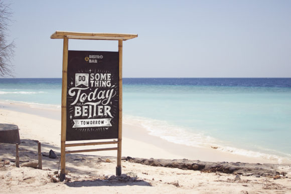 Beach View Slate Mockup Graphic Product Mockups By SmartDesigns