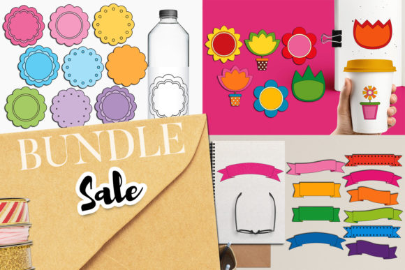 Print on Demand: Spring Elements Bundle Graphic Illustrations By Revidevi