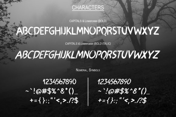 Print on Demand: Hexen Display Font By Chichucha - Image 2