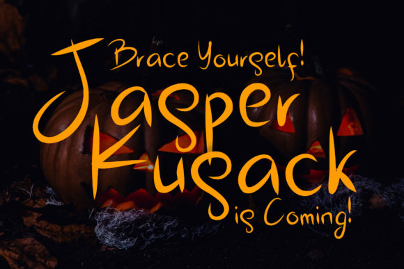 Print on Demand: Jasper Kusack Script & Handwritten Font By aldedesign