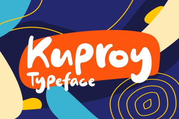 Print on Demand: Kuproy Script & Handwritten Font By Keithzo (7NTypes)
