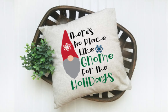Print on Demand: Gnome for the Holidays Svg Cut File Graphic Crafts By oldmarketdesigns - Image 5