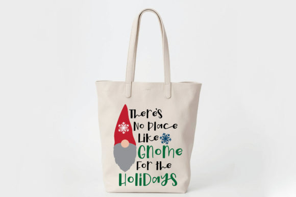 Print on Demand: Gnome for the Holidays Svg Cut File Graphic Crafts By oldmarketdesigns - Image 7