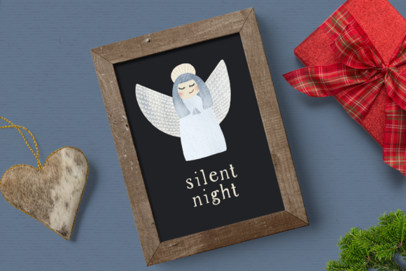 Print on Demand: Nordic Nights Christmas Clipart Graphic Illustrations By Wallifyer - Image 5