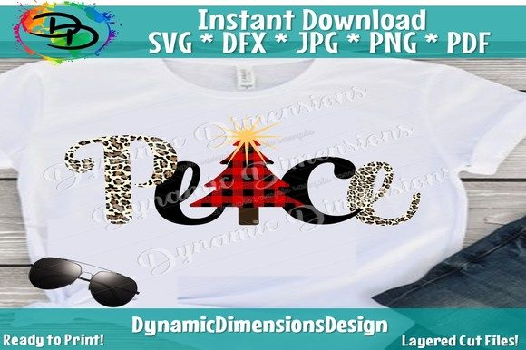 Print on Demand: Peace Christmas Graphic Crafts By dynamicdimensions - Image 1