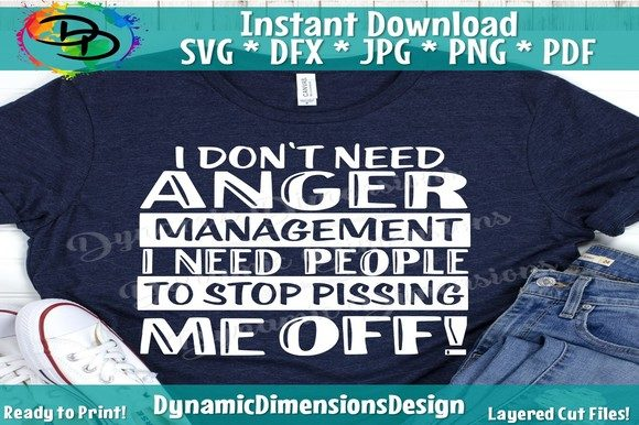Print on Demand: Anger Management Graphic Crafts By dynamicdimensions - Image 1