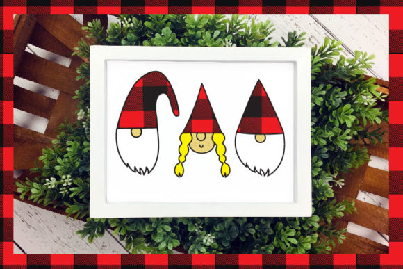 Christmas Plaid Font By Cute files Image 6