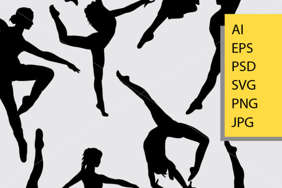 Download Free Dancing 2 Male And Female Silhouette Graphic By Cove703 for Cricut Explore, Silhouette and other cutting machines.