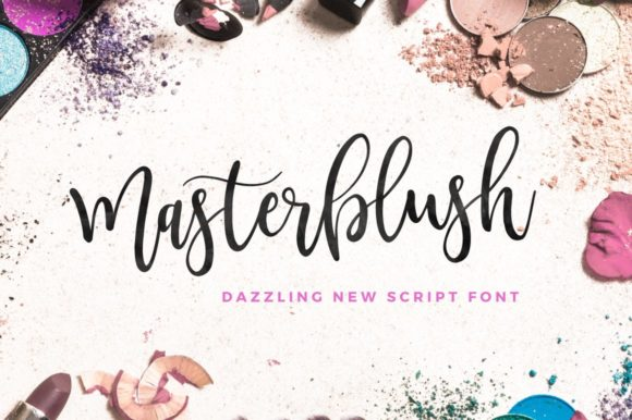 Print on Demand: Masterblush Script & Handwritten Font By wornoutmedia