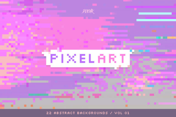 Pixel Art Colorful Backgrounds V. 01 Graphic Backgrounds By dvtchk - Image 7