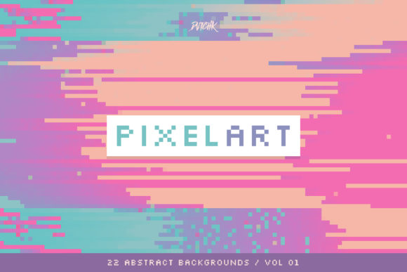 Pixel Art Colorful Backgrounds V. 01 Graphic Backgrounds By dvtchk - Image 2
