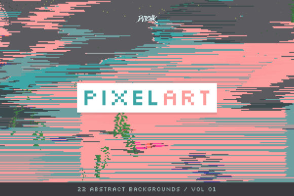 Pixel Art Colorful Backgrounds V. 01 Graphic By dvtchk Image 3