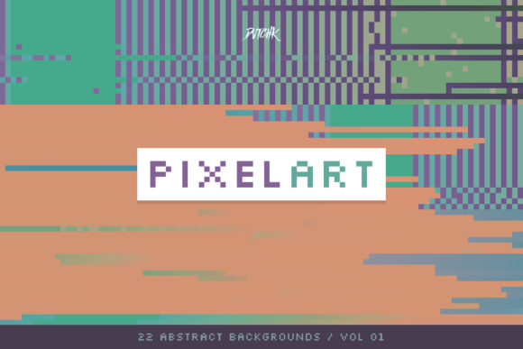 Pixel Art Colorful Backgrounds V. 01 Graphic By dvtchk Image 4
