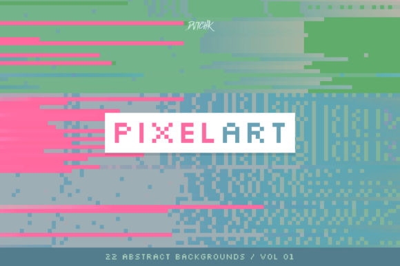 Pixel Art Colorful Backgrounds V. 01 Graphic By dvtchk Image 6