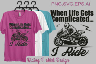 Riding T-shirt Design (Print-ready File) Graphic By bsakib777