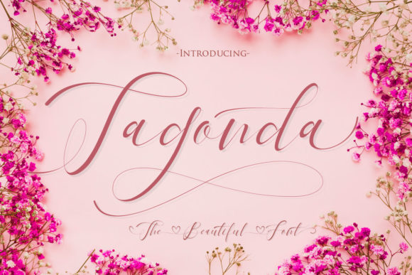 Print on Demand: Tagonda Script & Handwritten Font By Gilar Studio - Image 1