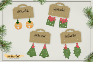 Download Free Diy Christmas Earrings Svg Cutfile Graphic By Boertiek for Cricut Explore, Silhouette and other cutting machines.