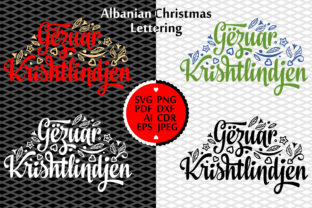 Download Free Albania Christmas In Different Language Graphic By Zoyali for Cricut Explore, Silhouette and other cutting machines.