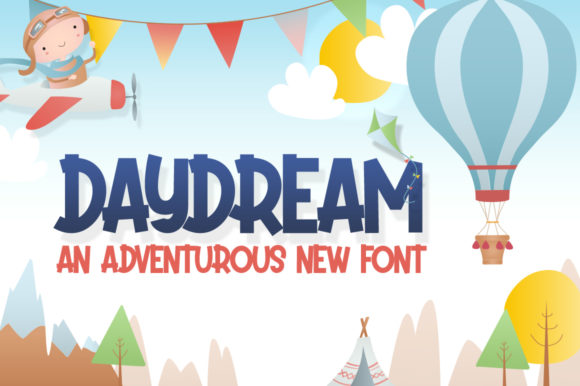 Print on Demand: Daydream Display Font By Salt & Pepper Designs