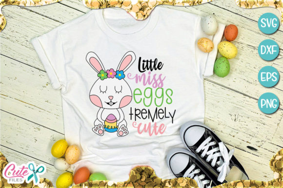 Little Miss Eggs Tremely Cute Graphic By Cute files