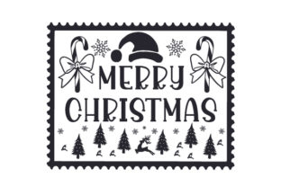 Christmas Stamp Christmas Craft Cut File By Creative Fabrica Crafts 2