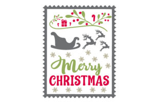 Christmas Stamp Craft Design By Creative Fabrica Crafts