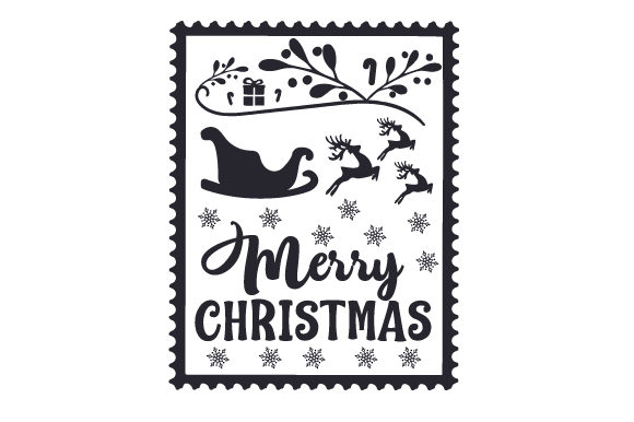 Christmas Stamp Christmas Craft Cut File By Creative Fabrica Crafts - Image 2