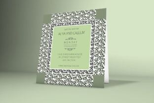 Download Free Floral Wedding Invitation Card Creative Fabrica for Cricut Explore, Silhouette and other cutting machines.