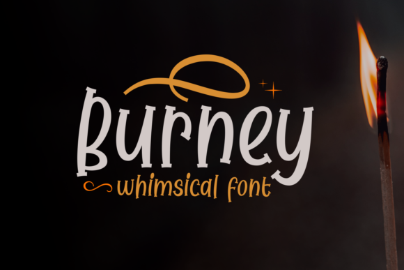 Burney Display Font By Dani (7NTypes)