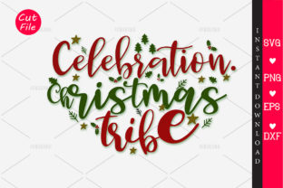 Download Free Celebration Christmas Tribe Svg Graphic By Orindesign Creative for Cricut Explore, Silhouette and other cutting machines.