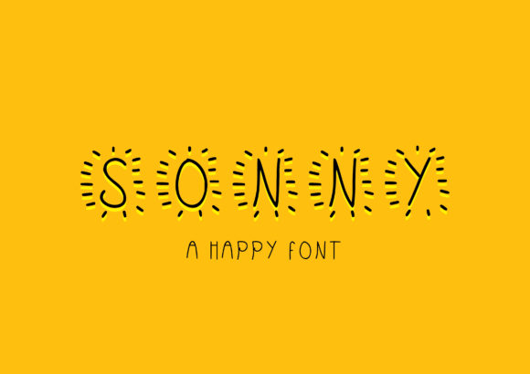Print on Demand: Sonny Script & Handwritten Font By GraphicsBam Fonts - Image 1
