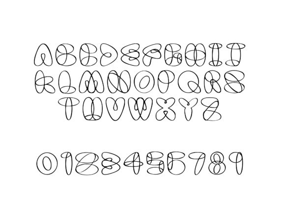 Print on Demand: Twist Decorative Font By GraphicsBam Fonts - Image 2
