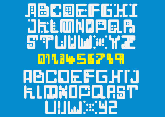 Print on Demand: Computerize Display Font By GraphicsBam Fonts - Image 2