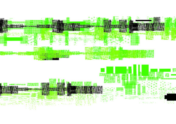 Print on Demand: Glitch Shape Dingbats Font By GraphicsBam Fonts - Image 3
