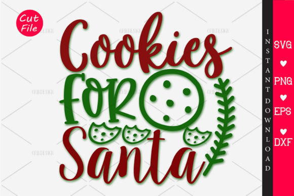 Download Free Cookies For Santa Svg Graphic By Orindesign Creative Fabrica for Cricut Explore, Silhouette and other cutting machines.