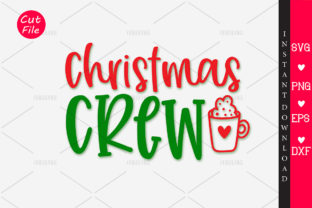 Download Free Christmas Crew Graphic By Orindesign Creative Fabrica for Cricut Explore, Silhouette and other cutting machines.