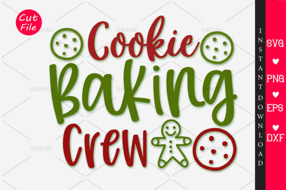 Download Free Cookie Baking Crew Svg Graphic By Orindesign Creative Fabrica for Cricut Explore, Silhouette and other cutting machines.