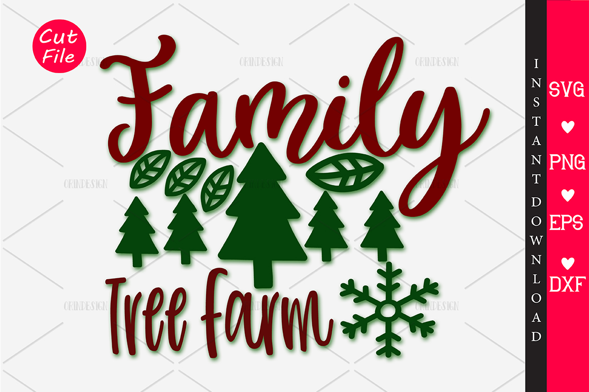 Download Free Family Tree Farm Svg Graphic By Orindesign Creative Fabrica for Cricut Explore, Silhouette and other cutting machines.
