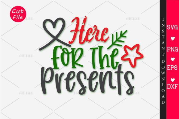 Download Free Here For The Presents Svg Graphic By Orindesign Creative Fabrica for Cricut Explore, Silhouette and other cutting machines.