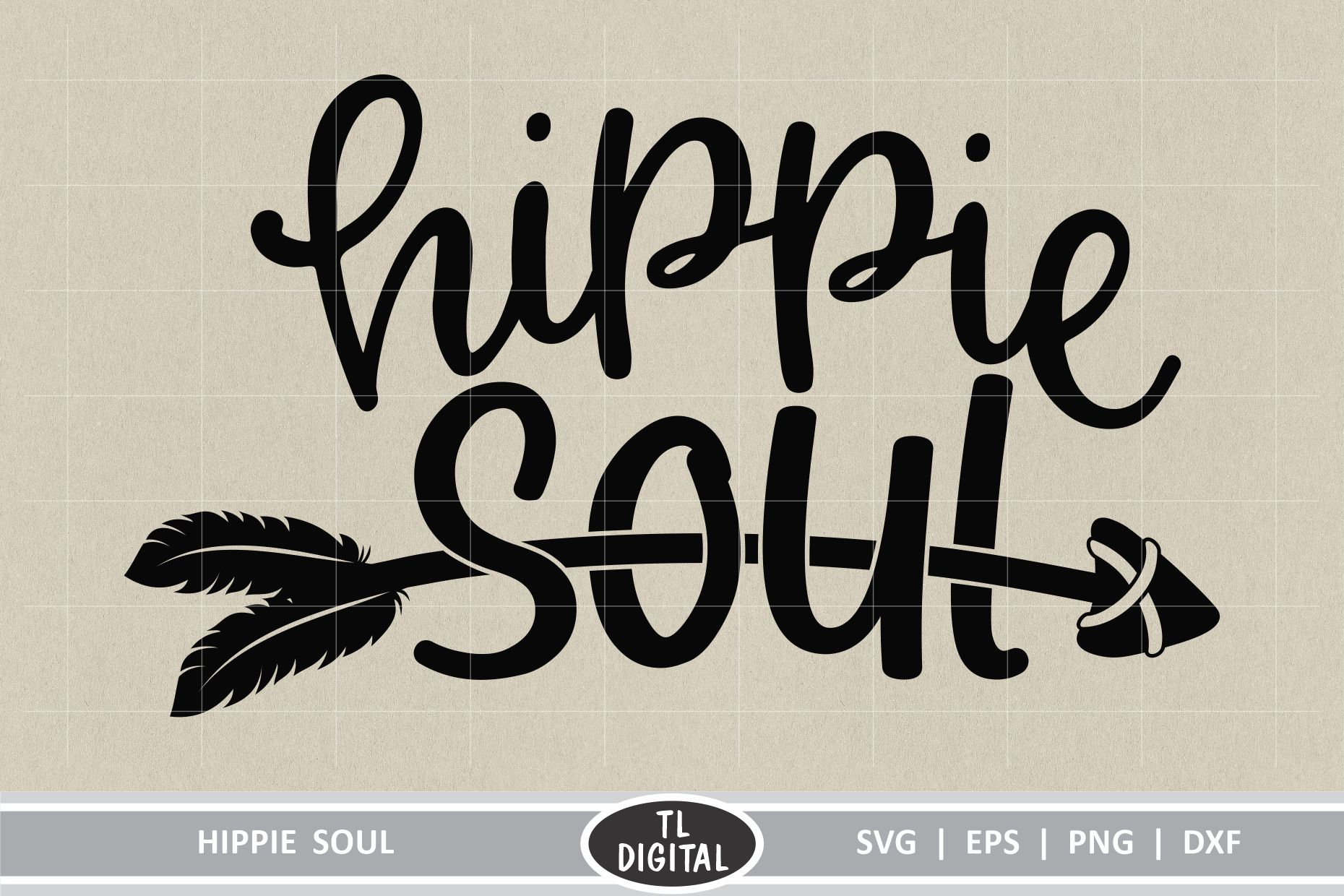 Hippie Soul Boho Graphic Graphic By Tl Digital Creative Fabrica