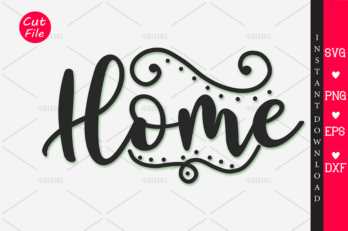 Download Free Home Svg Graphic By Orindesign Creative Fabrica for Cricut Explore, Silhouette and other cutting machines.