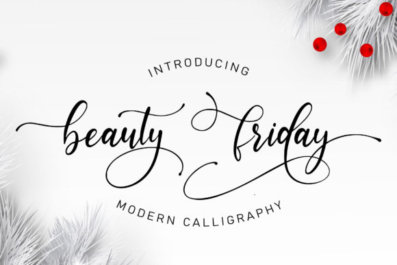 Beauty Friday Script & Handwritten Font By Juncreative