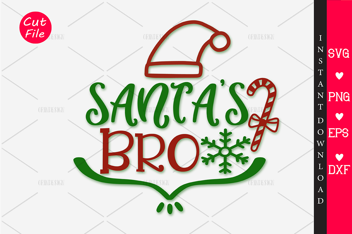 Download Free Santa S Bro Svg Graphic By Orindesign Creative Fabrica for Cricut Explore, Silhouette and other cutting machines.