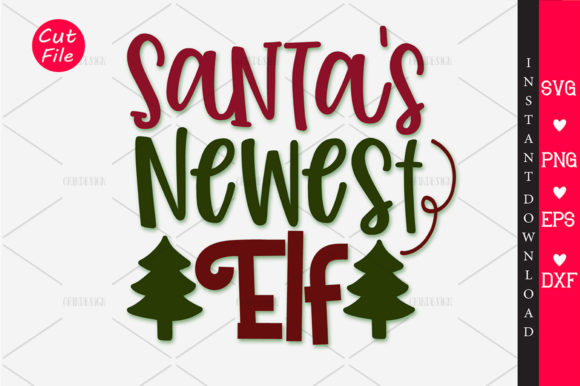 Download Free Santa S Newest Elf Svg Graphic By Orindesign Creative Fabrica for Cricut Explore, Silhouette and other cutting machines.