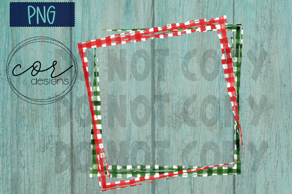 Christmas Sublimation Frame PNG Graphic By designscor