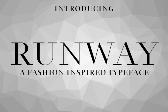 Print on Demand: Runway Slab Serif Font By denestudios