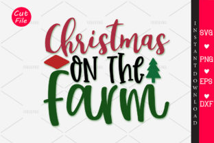 Download Free Christmas On Tha Farm Svg Graphic By Orindesign Creative Fabrica for Cricut Explore, Silhouette and other cutting machines.
