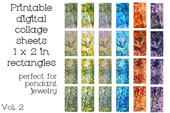Print on Demand: Pendant Collage Printable Sheets Graphic Crafts By Kathryn Maloney