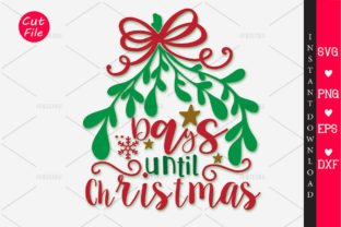Print on Demand: Days Until Christmas Graphic Crafts By OrinDesign