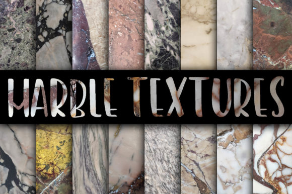 Print on Demand: Real Marble Textures Graphic Textures By oldmarketdesigns